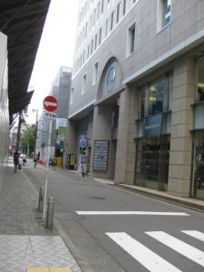 ココマイスター名古屋店への道のり2
