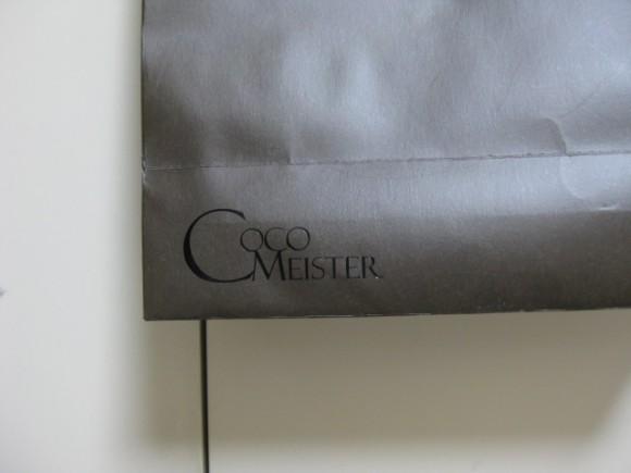 ココマイスター 紙袋