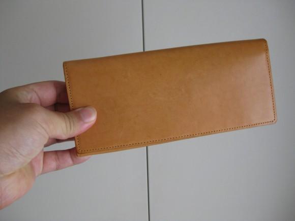 ココマイスター パティーナ 長財布 1年後