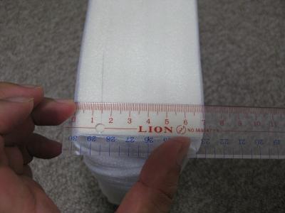 7cmの厚みの本