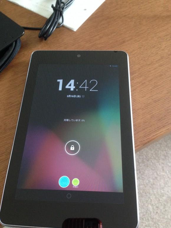 アンドロイドタブレット ASUS Nexus7(ME370T)-2