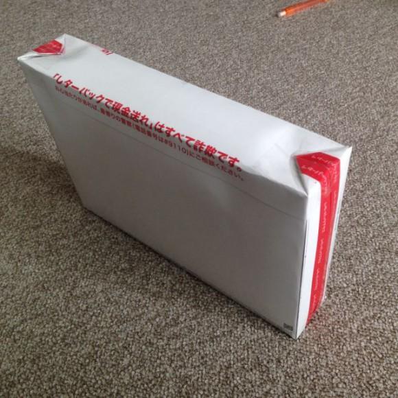 厚さ4.5cmの技術書を入れるため、レターパックプラスを久しぶりに立体成形してみた