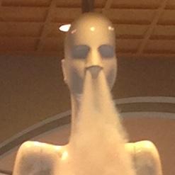 ナナちゃん人形の鼻息