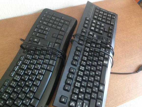ドスパラのBTOパソコン標準搭載のキーボード