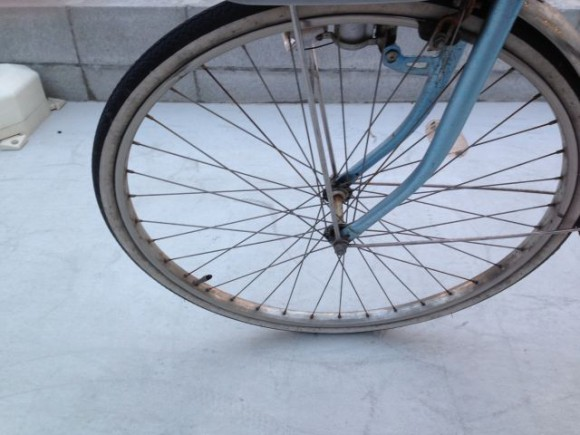 ママチャリがパンクしたので、サイクルベースあさひ稲沢店でタイヤ交換してきました