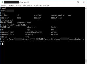 さくらレンタルサーバーでCakePHP3本体をwww/以下に置かないための設定