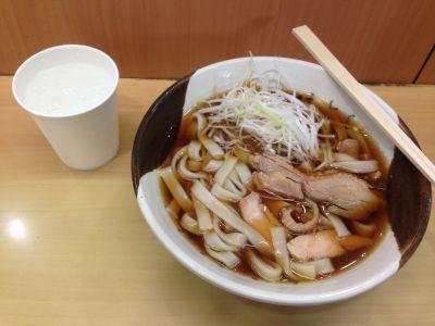 念願だった名古屋駅新幹線ホームの立ち食いきしめん!食べてきました。