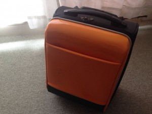 私のスーツケースもそろそろ限界か?