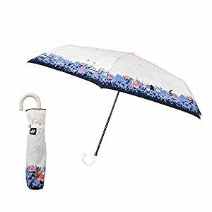 さりげない主張がオシャレ!ディズニーの折りたたみ日傘