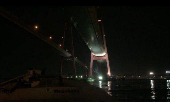 名古屋港でシーバス釣り(プロのガイドにボートで連れて行ってもらった編)
