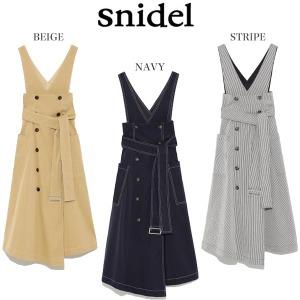snidel(スナイデル) トレンチライクレイヤードワンピース swfo182034