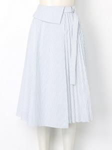 snidel(スナイデル)プリーツスイッチラップスカート。