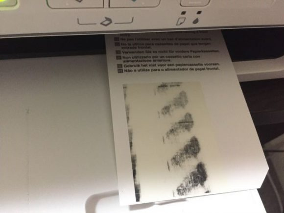 エプソンのPX-045Aプリンターで市販のハガキが印刷できなかったので、クリーニングシートを使ってみた