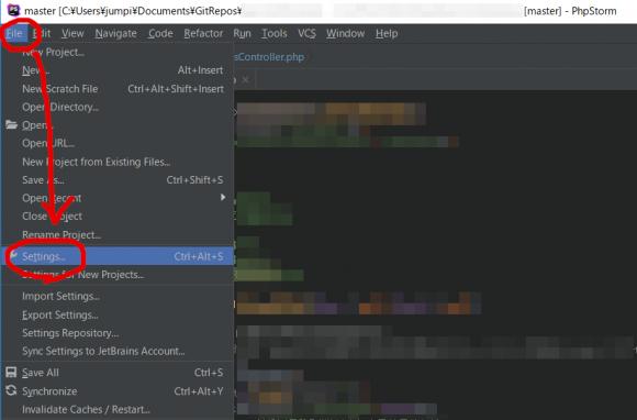 PHPStormでCakePHP3のテンプレート拡張子.ctpを認識させる設定方法