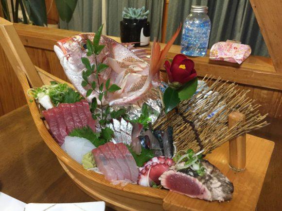 高知県土佐清水市足摺岬のペンション サライの料理マジ最高