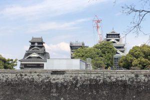 熊本城の現在 2019年4月