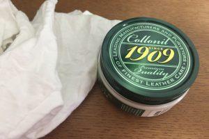 コロニル 1909シュプリームクリームは革製品なら何でも磨ける気がしてきた