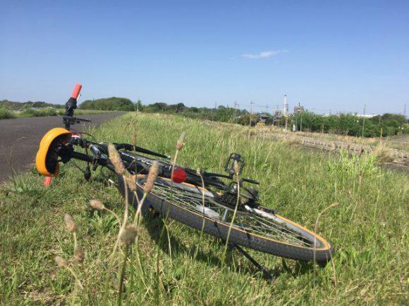 1年ぶりにクロスバイクで木曽川に行ったら、筋肉痛がスゴイんじゃ!