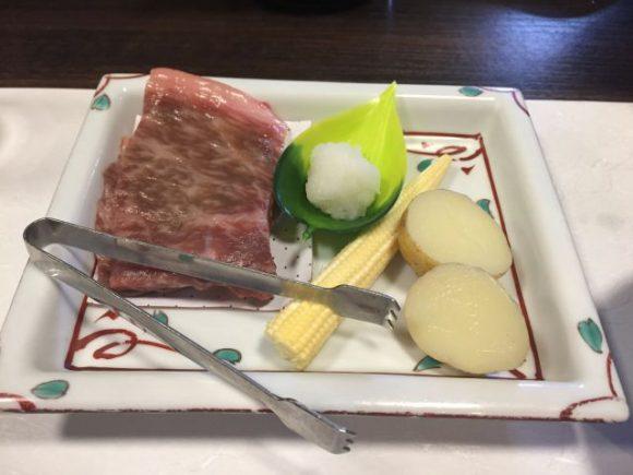 国産牛肉と夏野菜のグリル 自家製おろしポン酢 稲沢市 みたき 評判