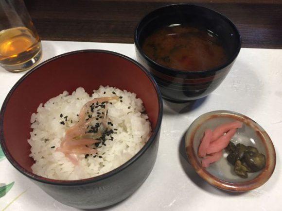 御飯・赤出汁・香の物 稲沢市 みたき 評判