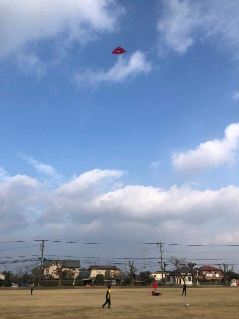 33年ぶりに凧揚げをした感想