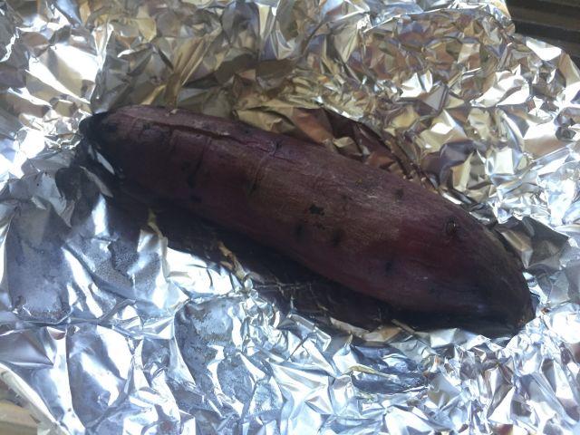 紅はるかで美味しい焼き芋できあがりました