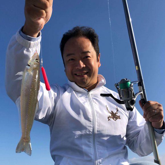 天草 島子港で25cmのキスが釣れました