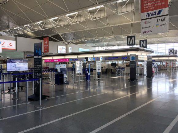 中部国際空港の様子