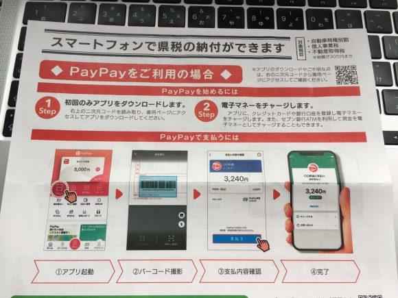 スマートフォンで自動車税が納付できる案内(熊本県)